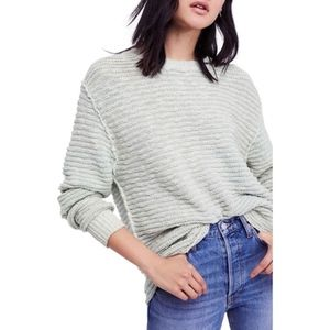 FREE PEOPLE | Menace Solid Tunic Sweater